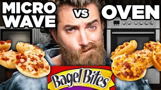 Microwaved vs. Oven-Baked Snack Taste Test