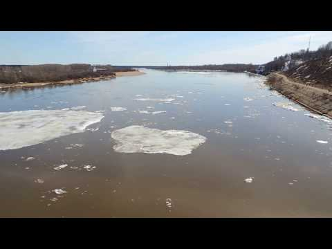 Лед пошел на реке Вятке Relax
