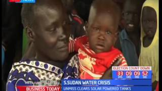 South Sudan water crisis: Move to improve security in camps