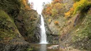 【HD】青森県 白神山地 暗門の滝 – がんばれ東北!