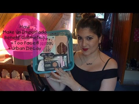 Video Haul Benefit Cosmetics + Too Faced + Urban Decay ♥ TouchOfPINK Style Argentina