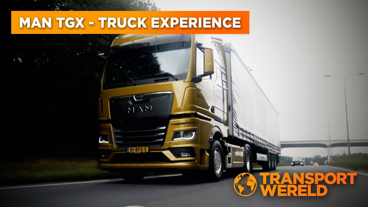 MAN TGX Truck Experience