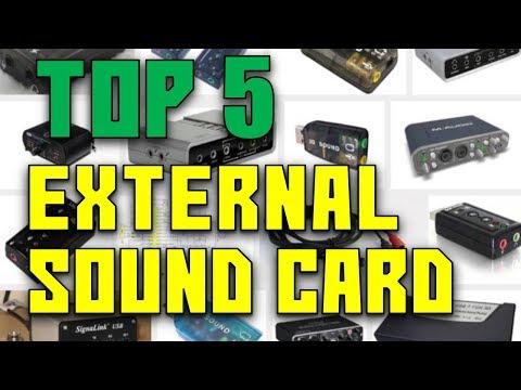 Best External Sound Card | Top 5 best external sound card in 2017