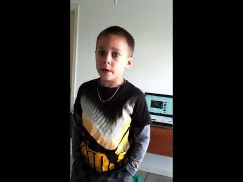 5 Year old Singing Penatonix version of