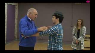 Len Goodman, Mark Ballas, Sadie Robertson Practice For Judges Choice (The Samba!)