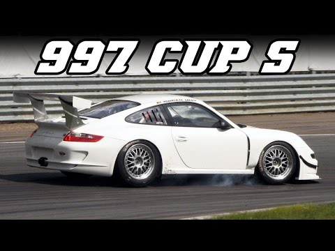 Porsche 997 Cup S - Cool raw sound