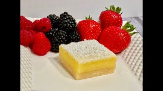 Lemon Bars  Delicious And Easy To Make