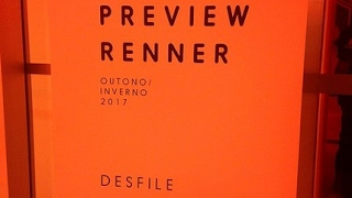Preview Renner Outono Inverno 2017