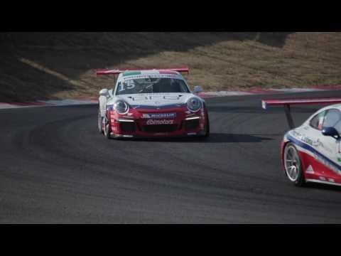 Porsche Carrera Cup Italia - Vallelunga, 24 giugno 2017 - HIGHLIGHTS Gara 1