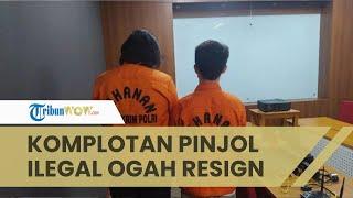 Komplotan Pinjol Ilegal Ogah Resign, Ngaku Tak Lulus Sekolah dan Terdesak Kebutuhan Hidup