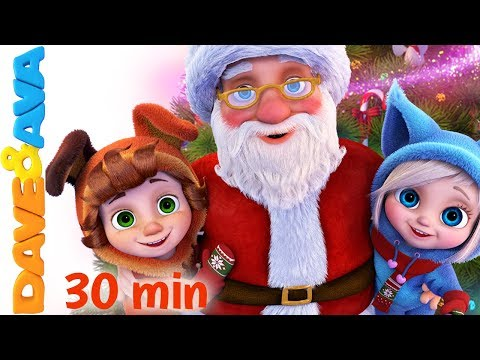 🎅 Christmas Songs for Kids: SANTA, We Wish You a Merry Christmas and More Rhymes for Babies 🎅