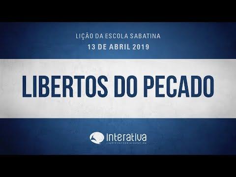 Lição da Escola Sabatina Nº 2 | Libertos do pecado
