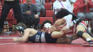 Gateway's Antonio Mininno upset by Jacob Perez of Paulsboro