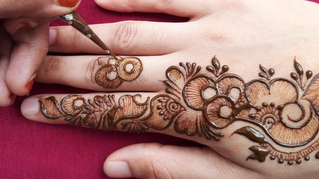 """<p style=""""color: red"""">Video : </p>New mehndi design 2020    easy mehndi designs    simple mehndi designs    mehndi designs for handsmehndidesignsforhands#easymehndimehndidesigns#mehendidesigns#mehndidesignseasy#mehndidesigns .. 2020-08-19"""