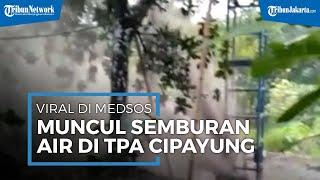 Viral Video Diduga Semburan Gas di TPA Cipayung, Pihak Damkar Depok Beri Penjelasan