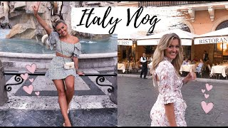 ITALY VLOG |  MY SUMMER IN ROME...