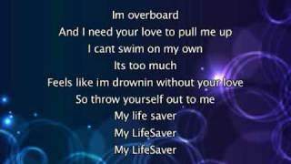 Justin Bieber - Overboard, Lyrics In Video