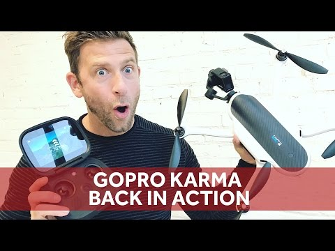 GoPro Karma Drone Is Back [Review + Little Test Flight]