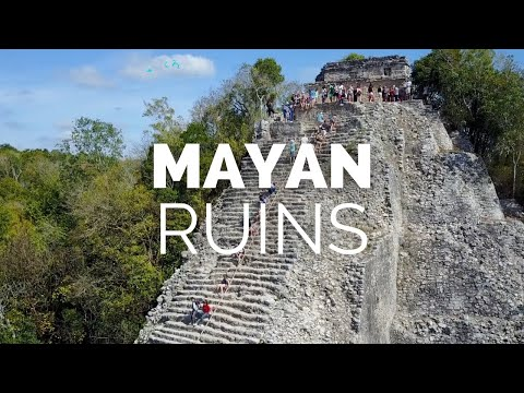 Admire the Beauty of Ancient Mayan Architecture