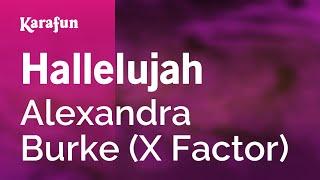 Karaoke Hallelujah   Alexandra Burke *