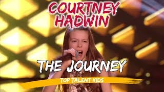 🌟 COURTNEY HADWIN 🌟 The Journey - TOP 5 and Preauditions | AGT The Voice Kids UK