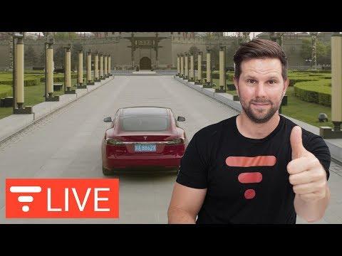 Tesla Dominates China Auto Show – Factory Coming Soon? [live]