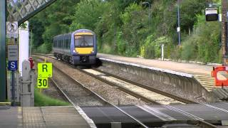preview picture of video 'Wherry Lines, Brundall Station 04.08.2012'
