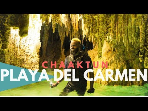 Playa Del Carmen Mexico Most EPIC Cenote + Caves | Things To Do In Playa