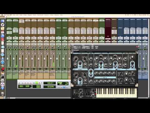 Making A Hip Hop Beat With An Mpk49 & Pro Tools Mp9