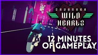 Sayonara Wild Hearts Gameplay   12 Minutes From PAX East