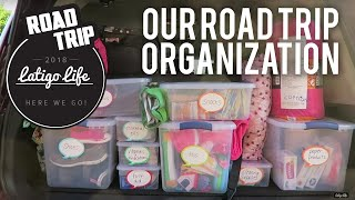 FAMILY ROAD TRIP PACKING TIPS FOR CLOTHES AND ORGANIZATION    Family Vlog