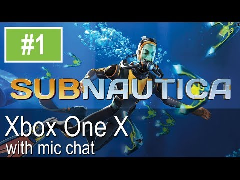 Subnautica Full Release Xbox One X Gameplay (Let's Play #1)