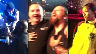 SECURITY GUARDS REACTING TO KPOP IDOLS