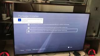 Купил ПРОШИТУЮ PS4 4.55. Часть 3. Конец установки, и халява!