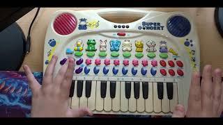 Simba Toys Animal Sound Piano