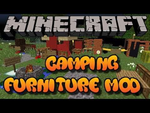 Minecraft: Camping Furniture Mod Showcase W/Download (Xbox