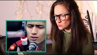"Vocal Coach REACTS to- MICHAEL PANGILINAN ""Lay Me Down"" (Sam Smith) LIVE Performance"