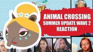 Animal Crossing: New Horizons Summer Update Wave 2  [ Reaction Mashup ]