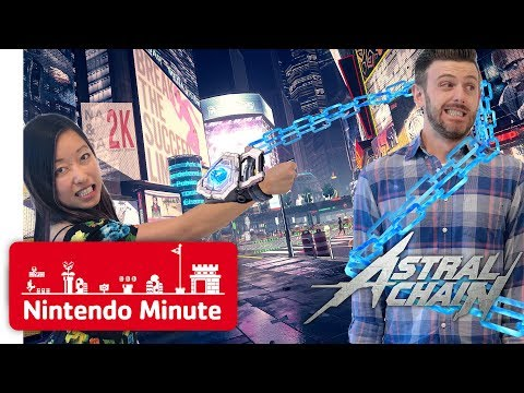 NEW Astral Chain Gameplay - Can We Defuse the Bomb? - Nintendo Minute thumbnail