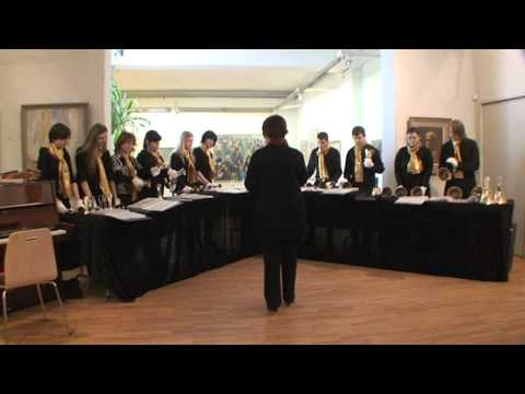 Latvian Handbell Choir Campanella -  Mother Maria (R. Pauls)