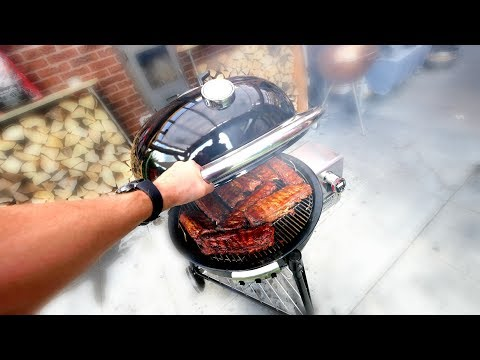 WEBER SUMMIT CHARCOAL  —  REVIEW and TEST