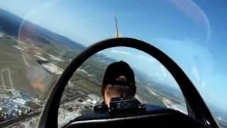 Mein allererster Segelflug in einer ASK 21, Start, Thermik, Landung bei starkem Wind