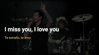 Maroon 5 - Miss You Love You (Lyrics | Letra)
