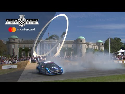 Elfyn Evans blows FOS away with awesome Fiesta WRC run