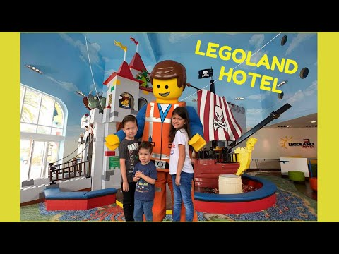LEGOLAND HOTEL TOUR! Kid-friendly Pirate themed room and Indoor playground for kids! Part 1