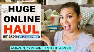 ONLINE HAUL 2018 \\ CONTAINER STORE, AMAZON & JCP \\ Style Mom XO - Video Youtube