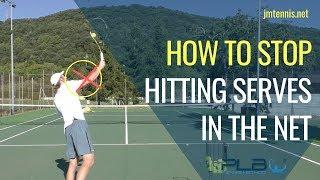 Tennis Serve: How To Stop Hitting Serves In The Net I JM Tennis   Online Tennis Training Programs