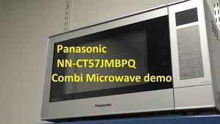 Panasonic NNCT57JMBPQ / NNCT54JWBPQ Microwave Oven and Grill