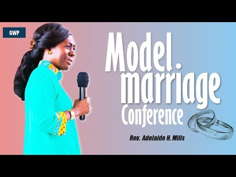 Model Marriage Conference By Rev. (Mrs.) Adelaide Mills