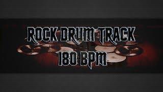 Blues/Rock Drum Track 180 BPM (HQ,HD)